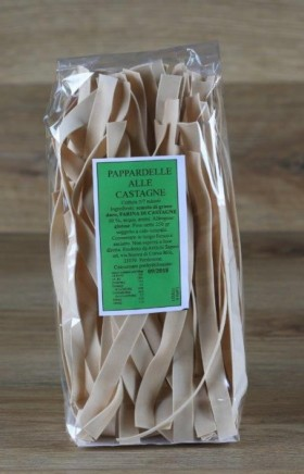 Pappardelle alle castagne