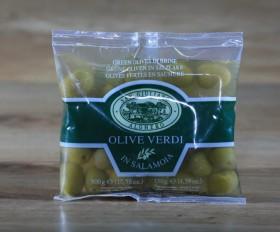 Olive verde 130 gr.