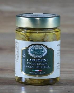 Carciofi olio di oliva
